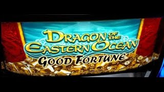 MASSIVE HANDPAY JACKPOT LIVE PLAY Dragons Of the Eastern Ocean  Bonus Free Spin slot machine