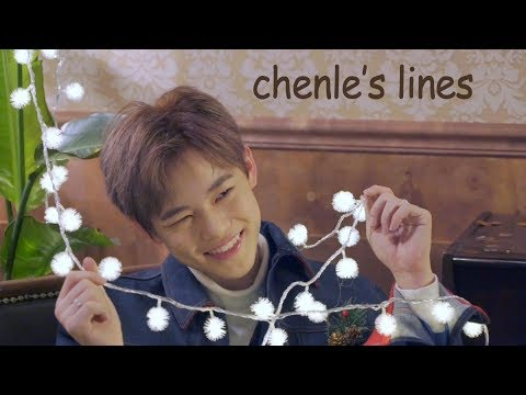 every nct dream mv but it's only chenle's lines