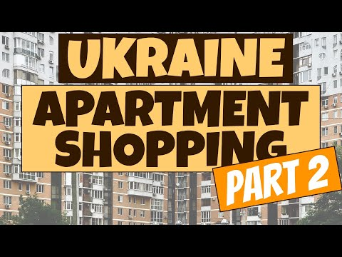 Apartment Shopping In Kiev, Ukraine - What You Must Know 2021 (Part 2/2) (Озерный Гай)