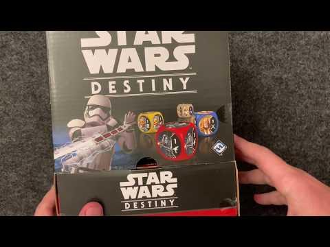 Spirit of Rebellion Booster Box of 36 Packs New Star HT1 Star Wars Destiny