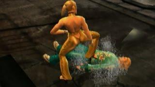 Tekken 5- Nina with Anna's Moves #2