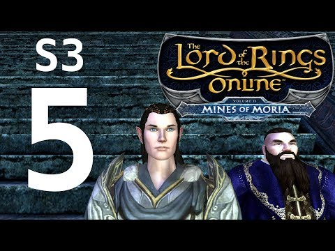 Let's Play LOTRO (S3 P5) - Moria at Last!