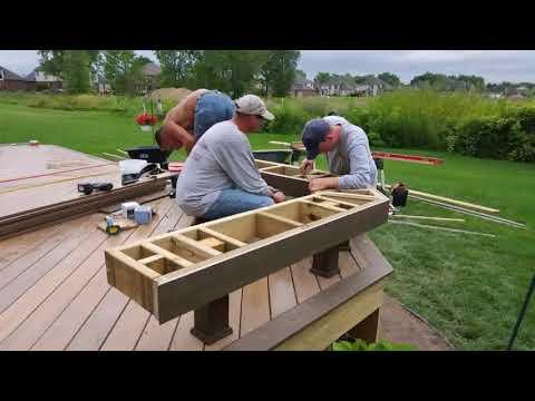 Build A Low Deck Over Concrete