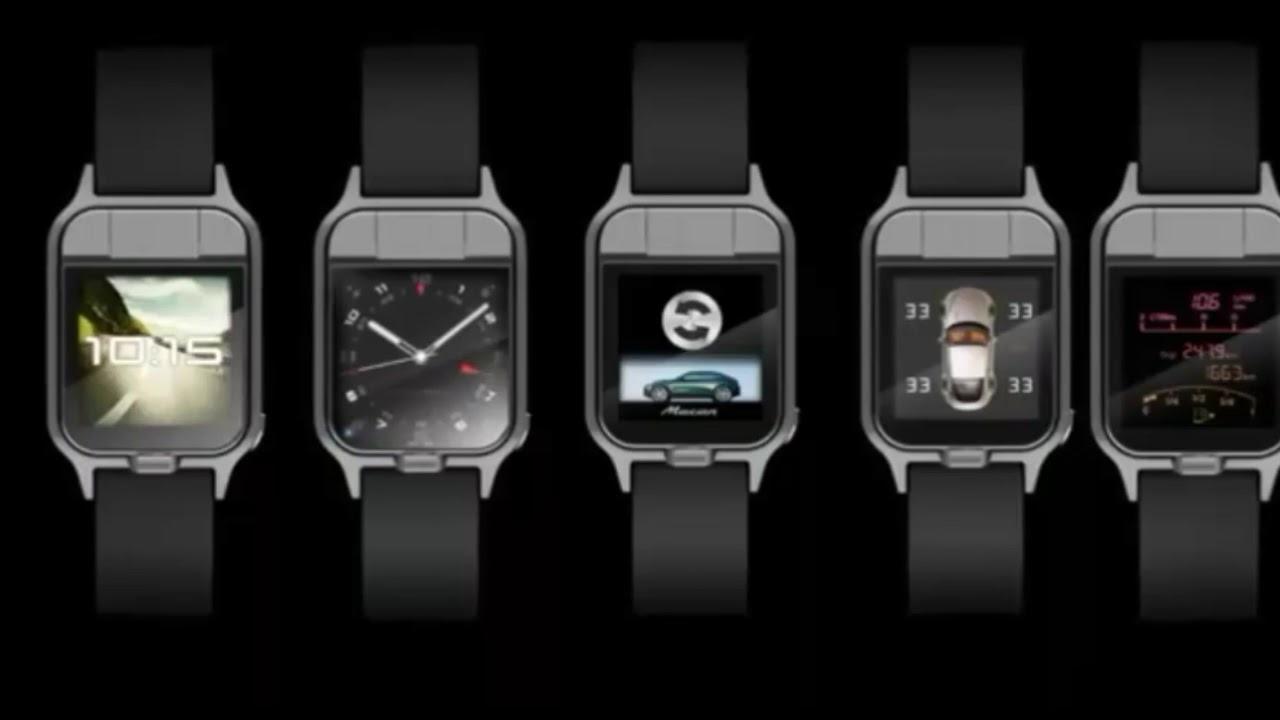 porsche smartwatch design concept 2018 youtube. Black Bedroom Furniture Sets. Home Design Ideas