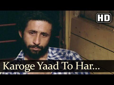 Bazzar - Karoge Yaad Toh - Bhupinder Singh