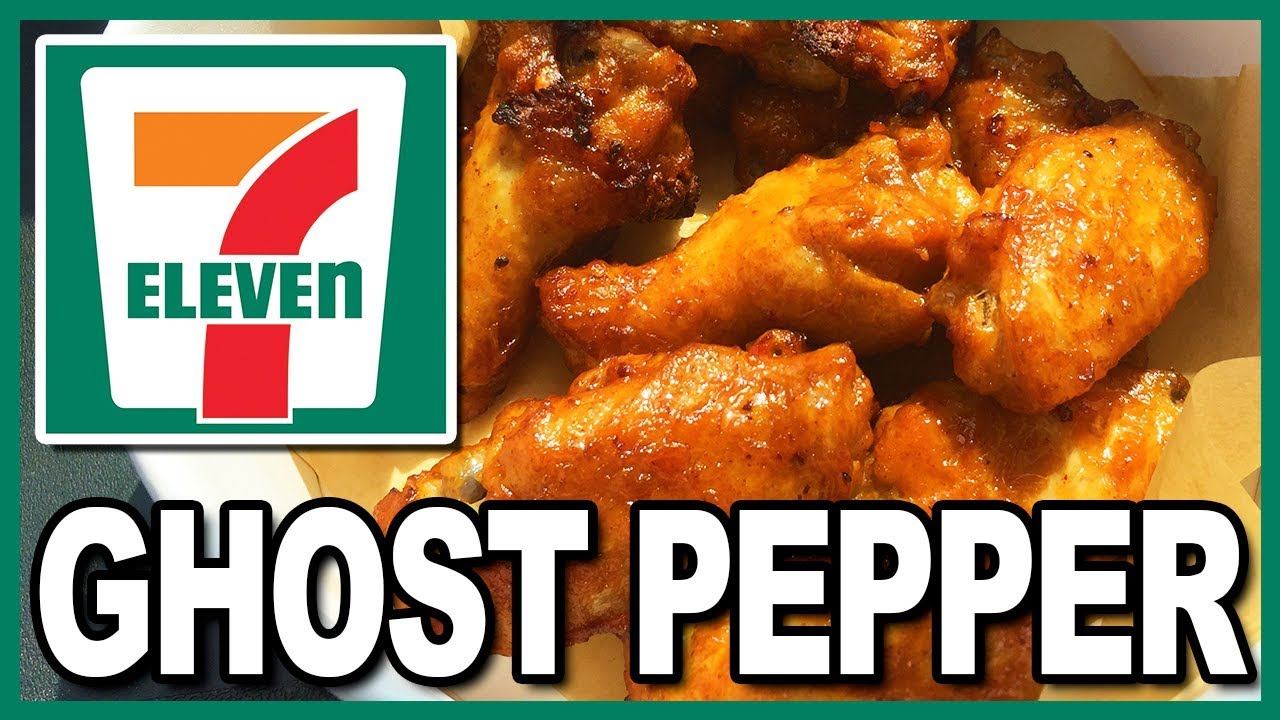???? HOTTEST FAST FOOD EVER!!!????  7-Eleven Ghost Pepper Wings