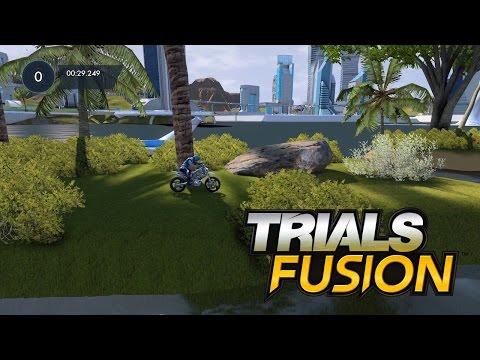 Trials Fusion | Testing my New Custom Track | Island Dash