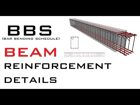 BBS (Bar Bending Schedule) - Beam Reinforcement Details