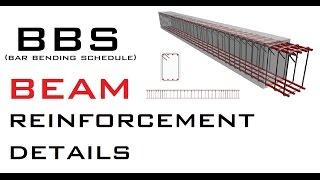 BBS (Bar Bending Schedule) - Beam Reinforcement Details thumbnail
