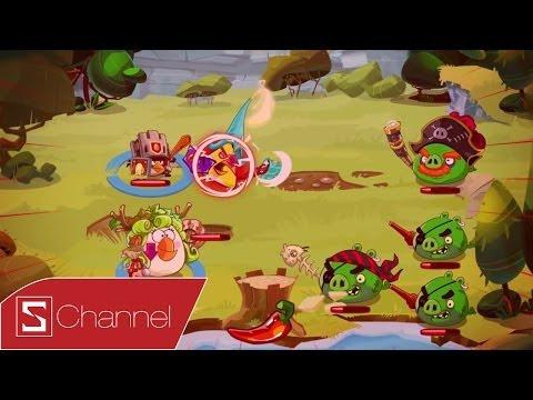 Schannel - Đánh giá nhanh Angry Birds Epic: Chơi Angrry Bird theo phong cách nhập vai mới