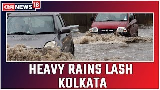 Traffic Snarls, Waterlogging In Many Parts As Torrential Rains Lash Kolkata