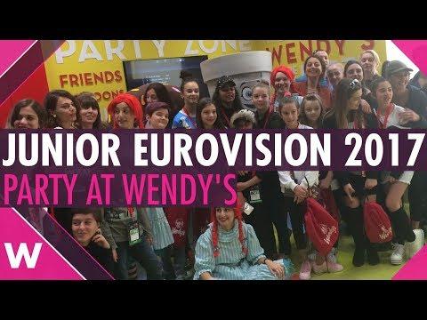 JESC 2017: Australia, Albania, Georgia, Ireland, Macedonia @ Wendy's Party