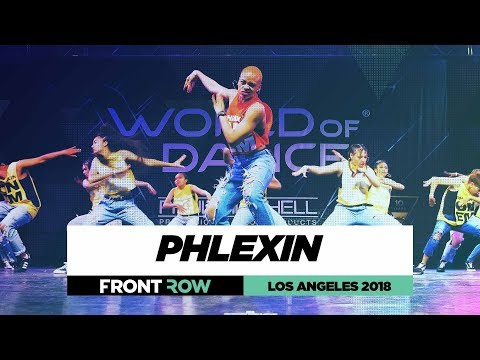 Phlexin | FrontRow | World of Dance Los Angeles 2018 | #WODLA18