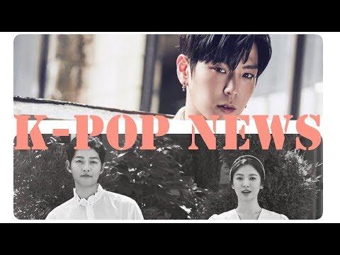 Сон Джун Ки и Сон Хе Гё развелись / Ким Су Хён возвращается из армии /Скандалы в мире к поп