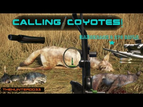 CALL OF THE WILD!!  *Calling Coyotes*   THEHUNTER 2017