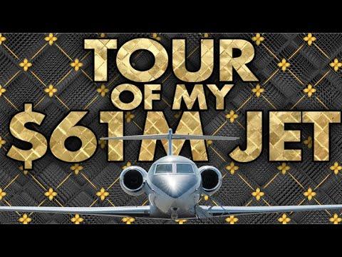 Grant Cardone Private Jet