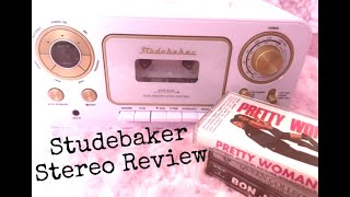 STUDEBAKER STEREO REVIEW | CD and Cassette Player!!!