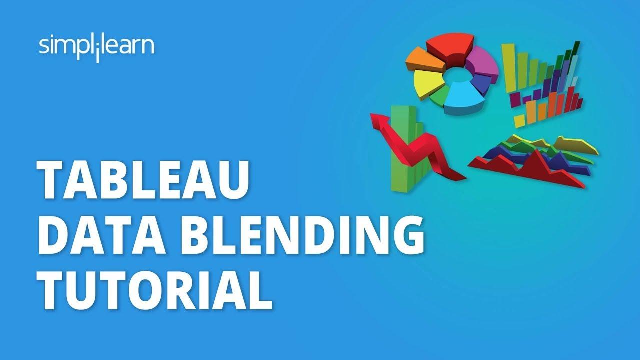 Tableau Data Blending Tutorial | Data Blending In Tableau Example | Tableau Training