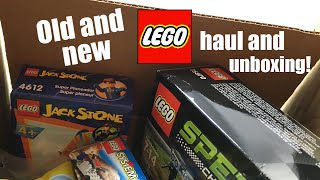 LEGO mystery unboxing: Old and new LEGO sets haul!