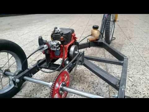 Chainsaw Three Wheeler Engine Go Kart