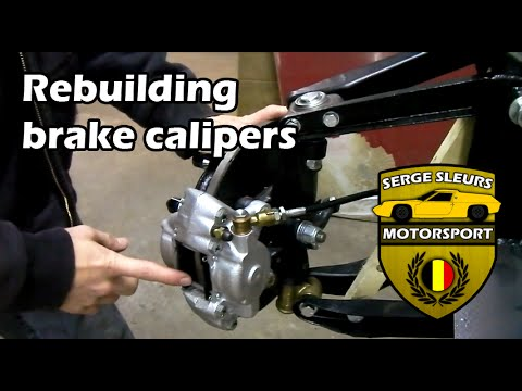 Lotus Europa - Ep 18: Rebuilding brake calipers