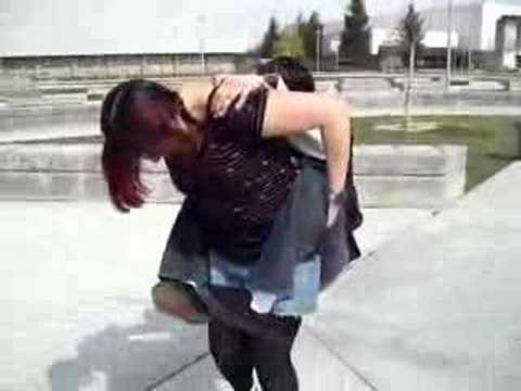 Real girls fight naked
