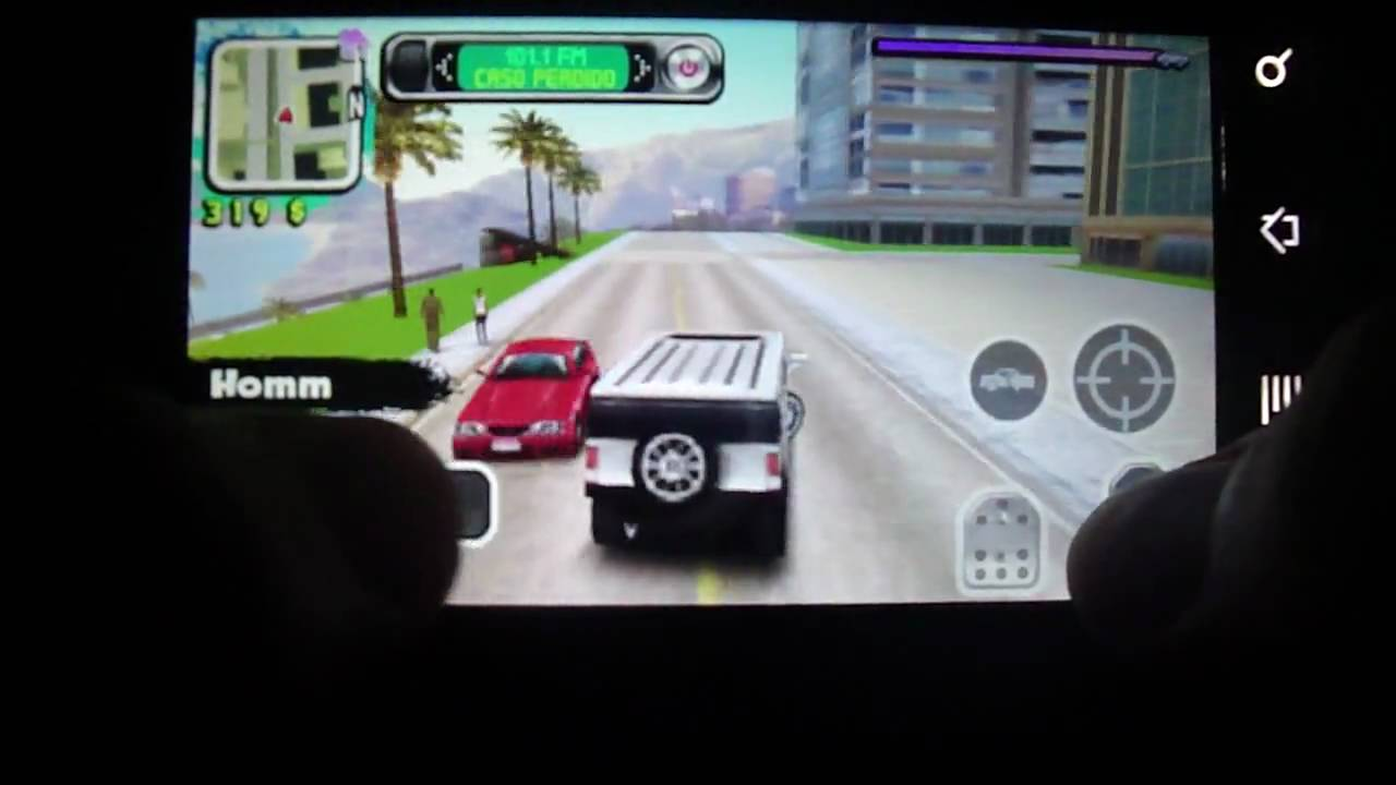 Gangstar West Coast Hustle for Android on the Motorola Milestone/Droid
