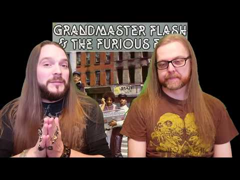 Download Youtube: Grandmaster Flash & The Furious Five - The Message (A Metalhead Reaction to Hip Hop)