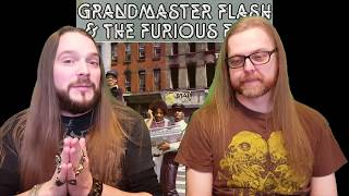 Grandmaster Flash & The Furious Five - The Message (A Metalhead Reaction to Hip Hop)