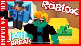 ROBLOX PRISON • POLICEMEN VS THIEVES • ESCAPE from PRISON (Roblox Jailbreak) #1