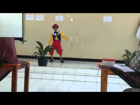 Storytelling About Pinocchio Present By Glenn Wilahuky ( Gilang )