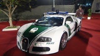 Dubai Police Bugatti Veyron EB 16.4 @ DIBS 2014!!