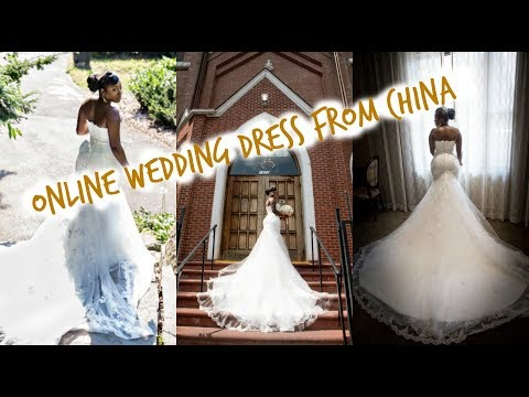 Online China Wedding Dress Review/Unboxing