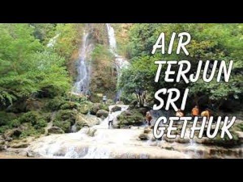 Sri Gethuk Waterfall Air Terjun Wisata Alam Gunungkidul