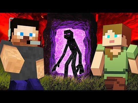 EXPLORING THE NETHER!! MINECRAFT w/ MY GIRLFRIEND!! (Minecraft #9)
