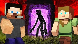 EXPLORING THE NETHER!! MINECRAFT w/ MY GIRLFRIEND!! (Minecraft #9)