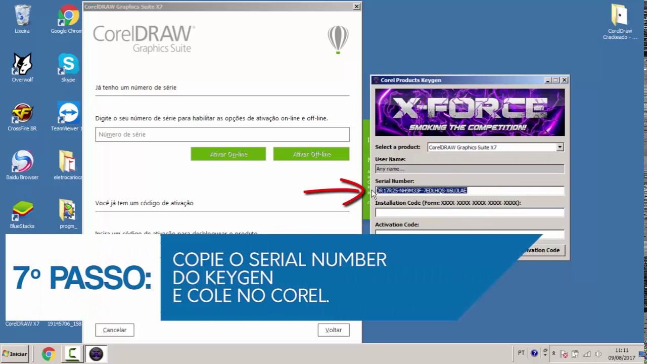 serial corel draw x7 64 bit