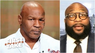 Mike Tyson's workout videos are a BIG deal - Marcus Spears | First Take