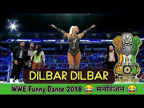 DILBAR DILBAR | WWE Bollywood Funny Dance 2018 | Satyameva Jayate