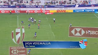 Seven of the best tries at the Paris Sevens