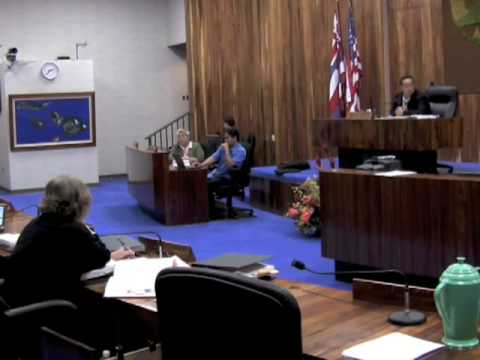 (2 of 2) Maui County Council 11-18-08 Save Honolua 1
