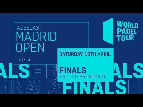 Finals - Adeslas Madrid Open 2021 - World Padel Tour