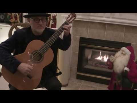 Away in a Manger (Michael Lucarelli, classical guitar) Christmas
