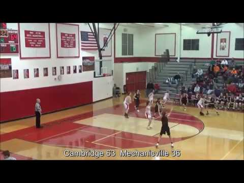 Game Highlights Girls' Varsity: Cambridge 70 vs Mechanicville 36 (F)