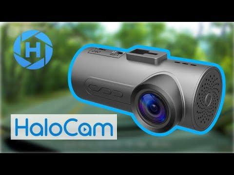 HaloCam C1 Plus Car Dash Cam FHD 1080P - TONS OF FEATURES!!