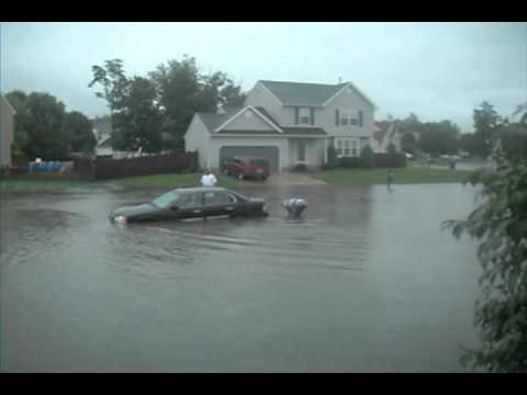 Williamstown, NJ Aug 14 2011 Flood