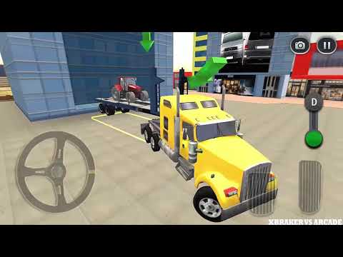 Highway Cargo Truck Transport Simulator 2018 | All Tracks & Levels Unlocked - Android GamePlay HD