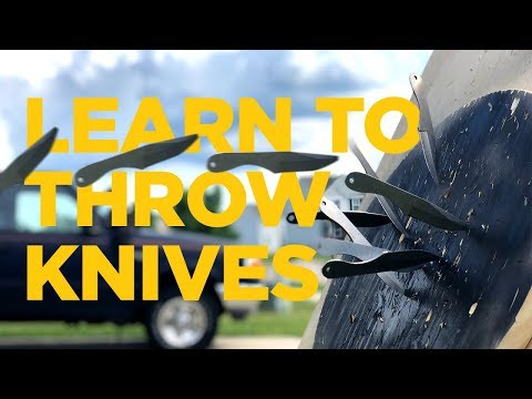 Learn to Throw Knives || Guest Video