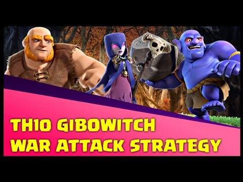 Th10 GiWiBo (Giant + Witch + Bowler) War Attack Strategy | Part 3 | Clash of Clans