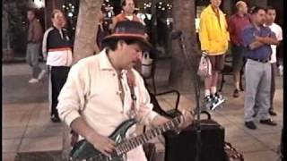 LOS ANGELES INCAS - PART 1 of 2 (MUSIC OF BOLIVIA, PERU & MEXICO ON SANTA MONICA PROMENADE) 4-18-99